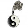 Talismã Colar Yin Yang - Prateado