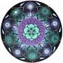 Toalha Emborrachada para Altar Mandala mod. 2