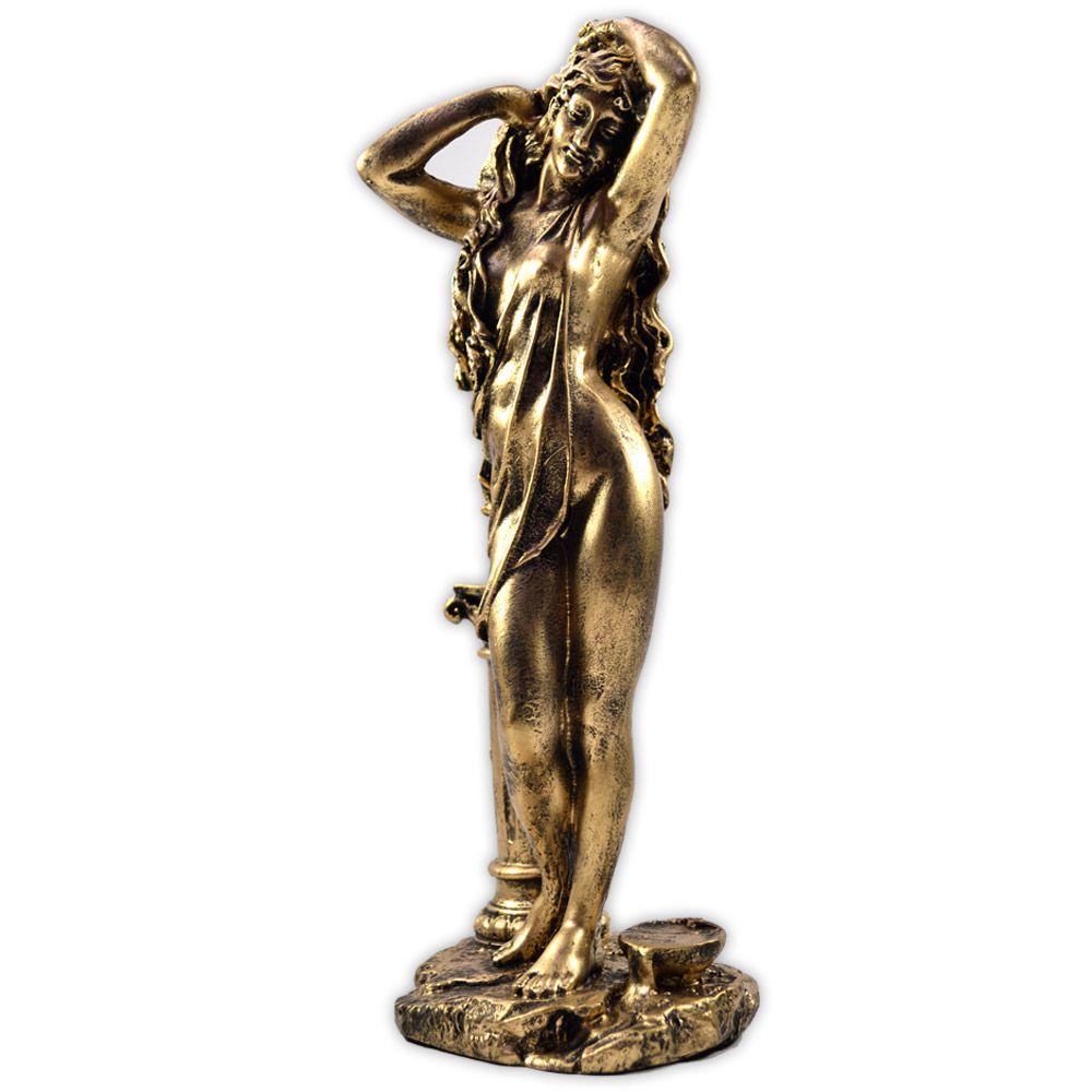 Deusa Afrodite - mod. 2 Dourada