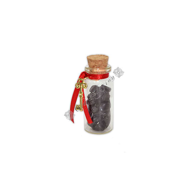 Amuleto com Cristais - Turmalina