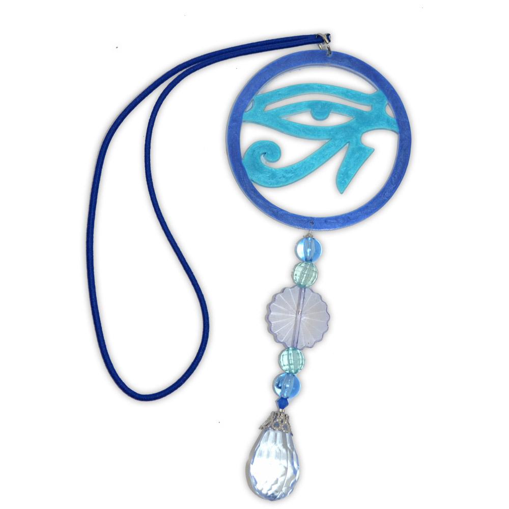 Amuleto pra carro - olho de hórus