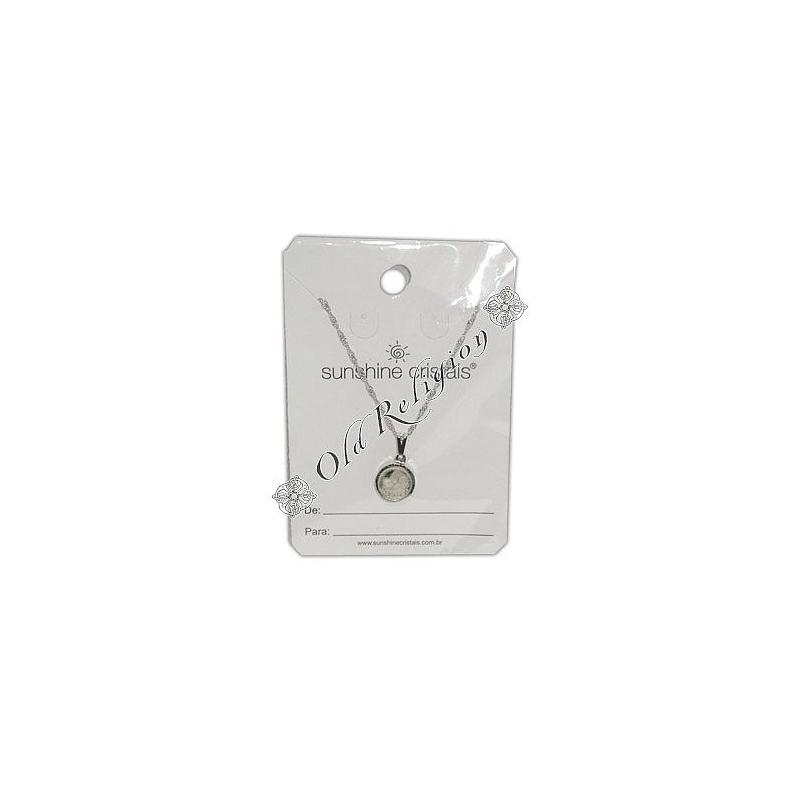 Amuleto Sal Grosso - Prateado Pequeno