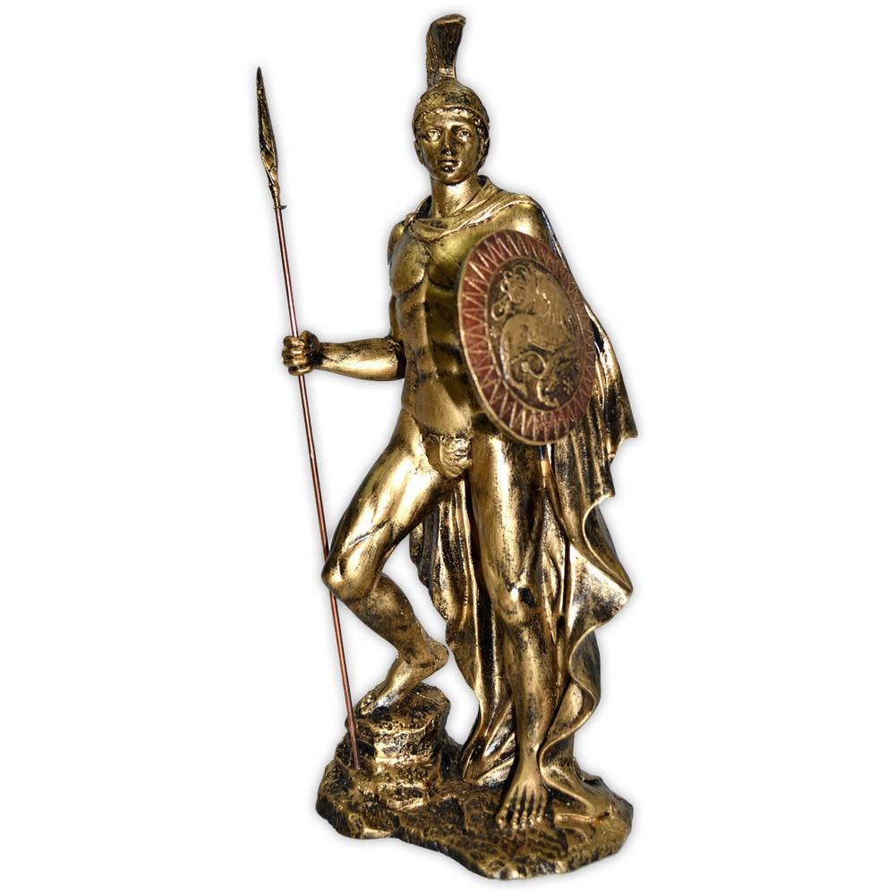 Deus Ares ou Marte - Dourado