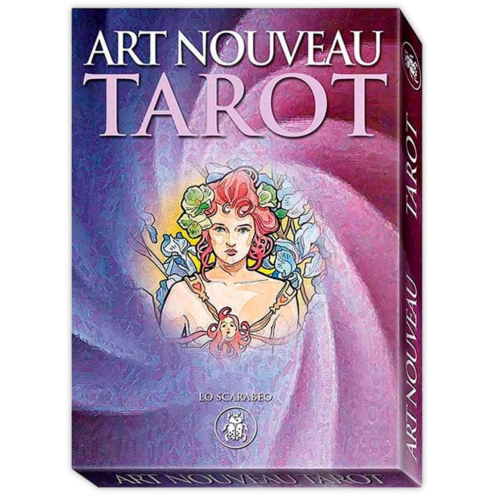 Art Nouveau Tarot - 22 Arcanos Maiores