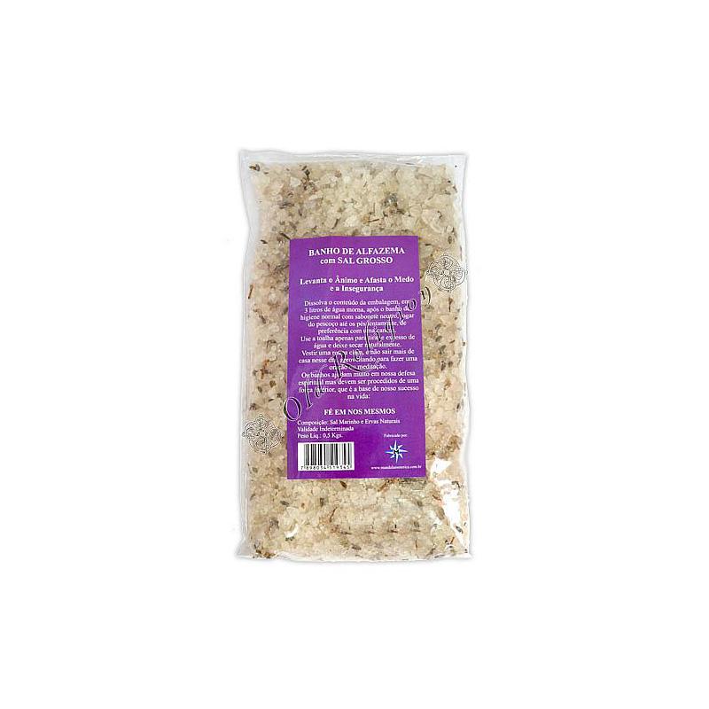 Banho de Ervas com Sal Grosso - Alfazema