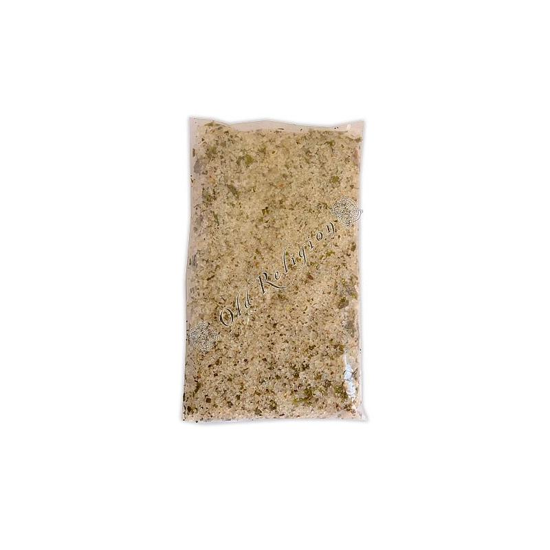 Banho de Ervas com Sal Grosso - Descarrego