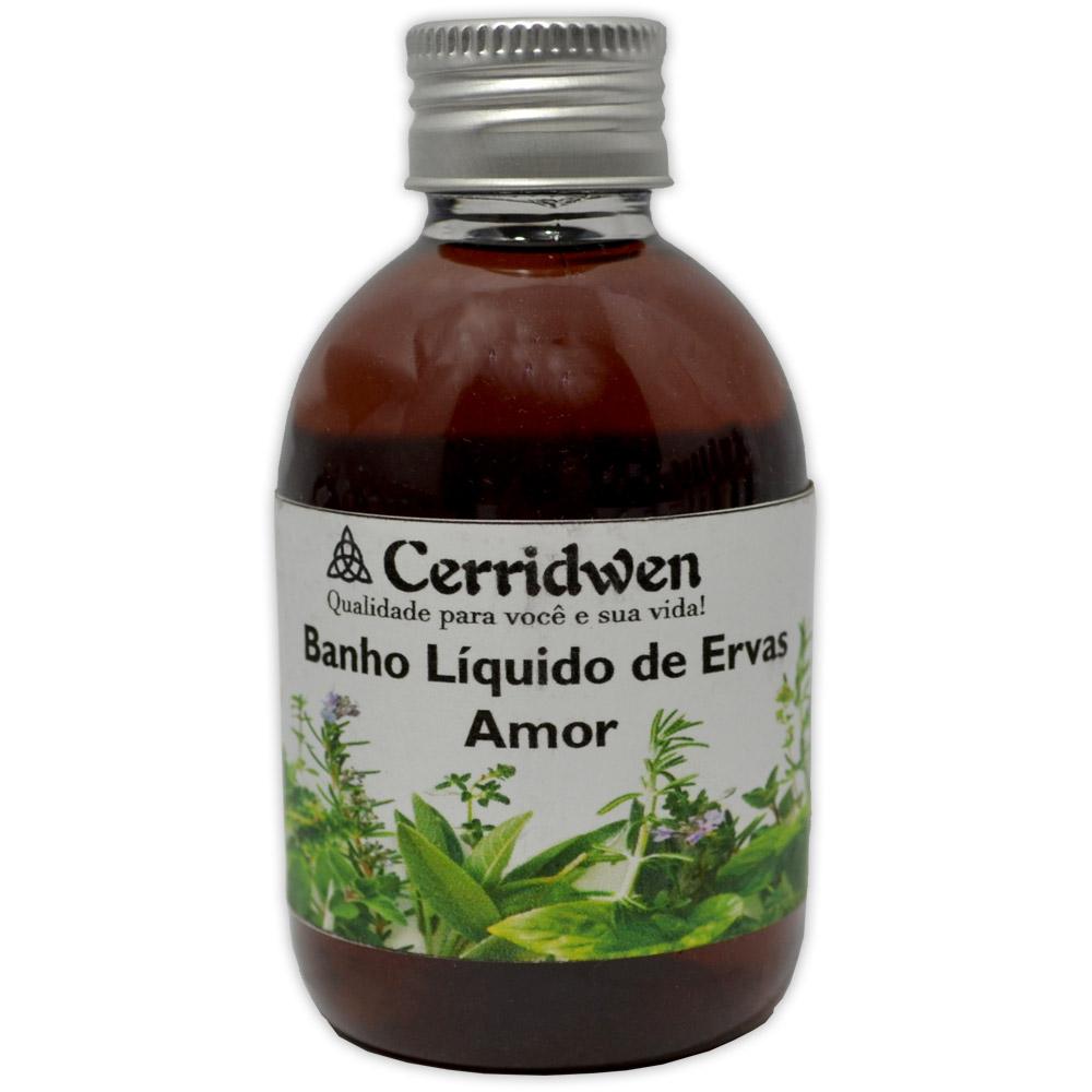Banho Liquido de Ervas - Amor