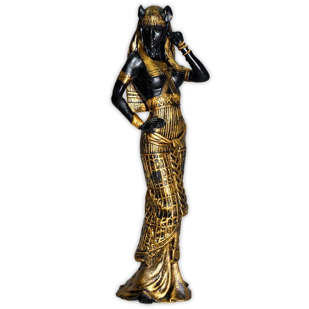 Deusa Bast - Dourada mod. 2