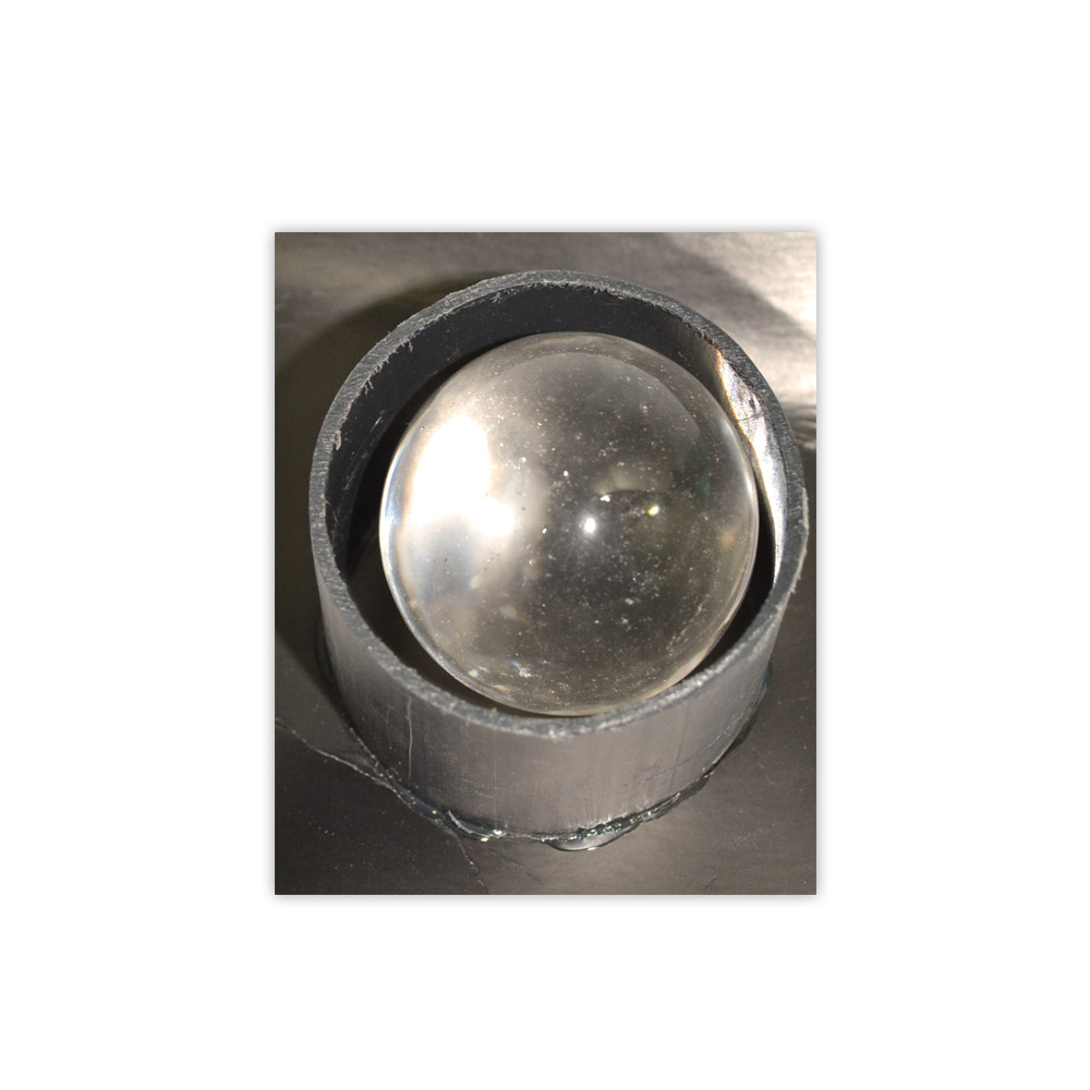 Bola Cristal limpo 38 a 43 mm