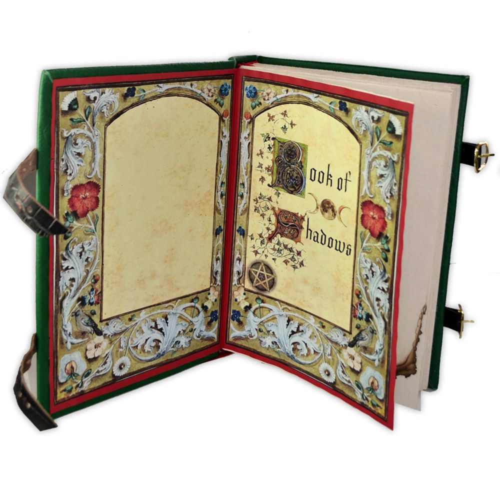 Book Of Shadows - encadernação medieval