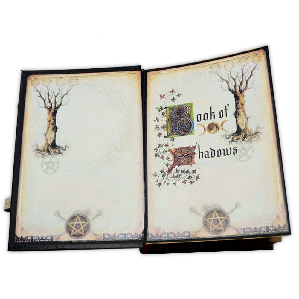 Book Of Shadows Encadernação Medieval 400pg. - Árvore Branca