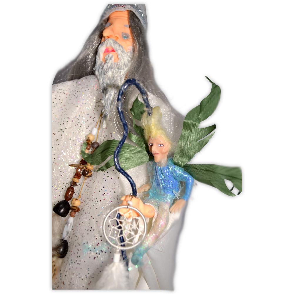 Natã e seu elfo Lúcio ( mod. 81 )