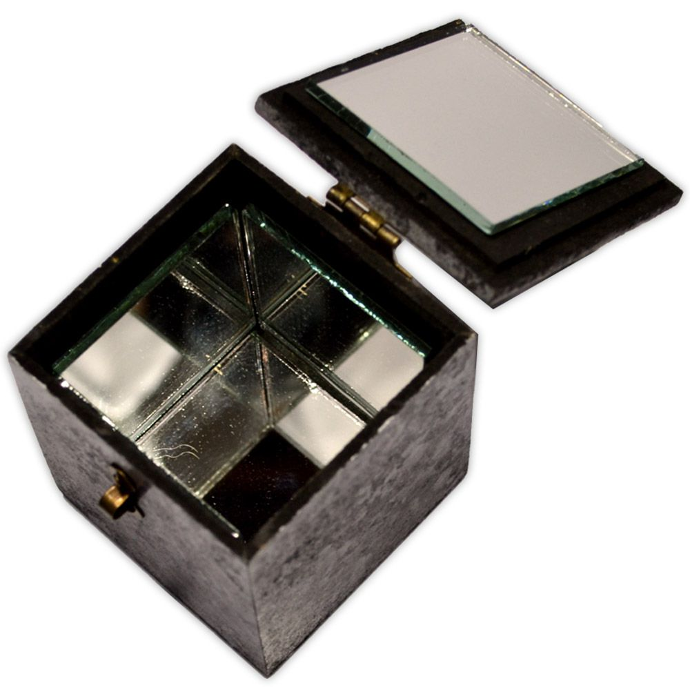 Caixa de Espelhos - Pentagrama Prateado