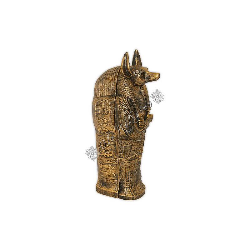 Caixa Egípcia - Anúbis Dourada