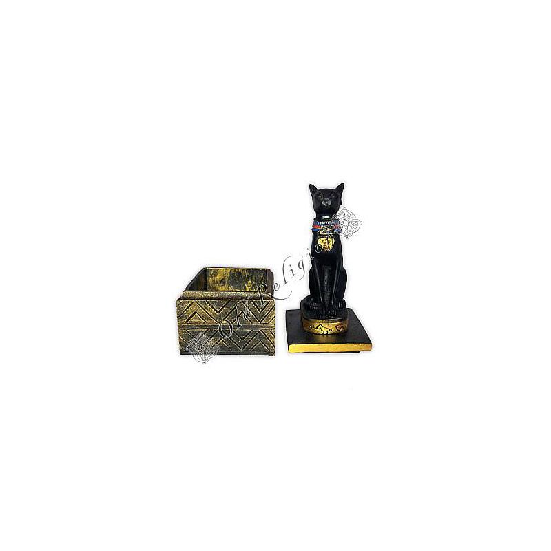 Caixa Egípcia Bast - Modelo 2