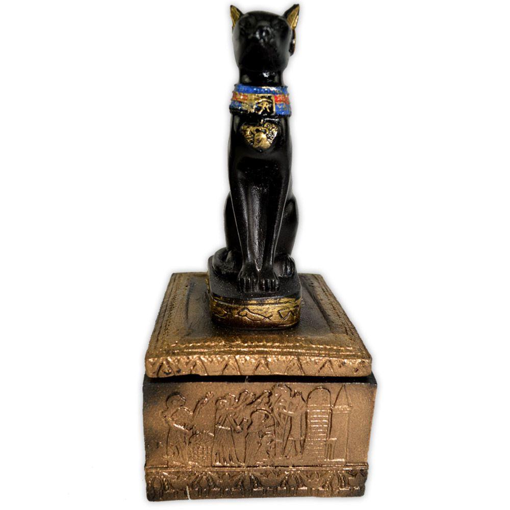 Caixa Egípcia Bastet - Modelo 2