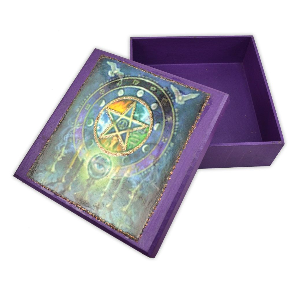 Caixa para Tarô - Pentagrama