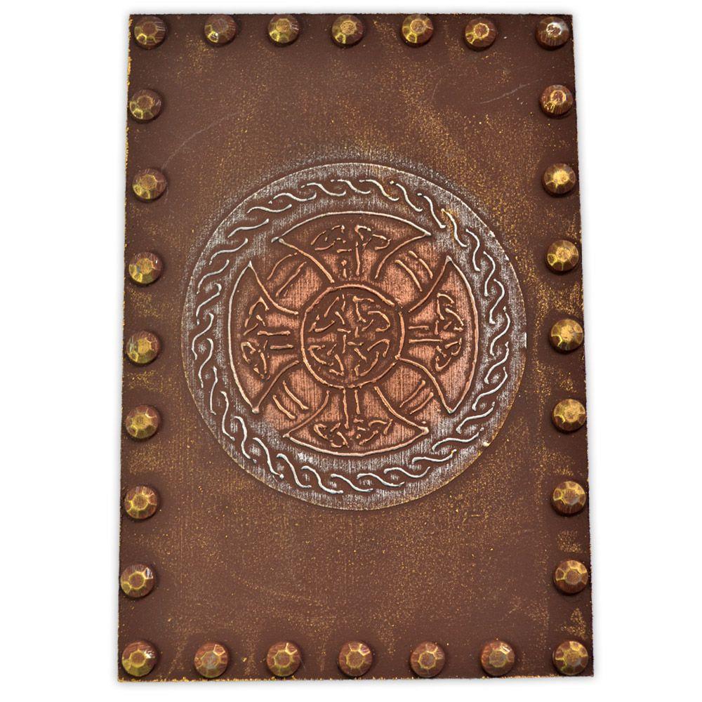 Caixa para Tarô - Escudo Celta Bronze