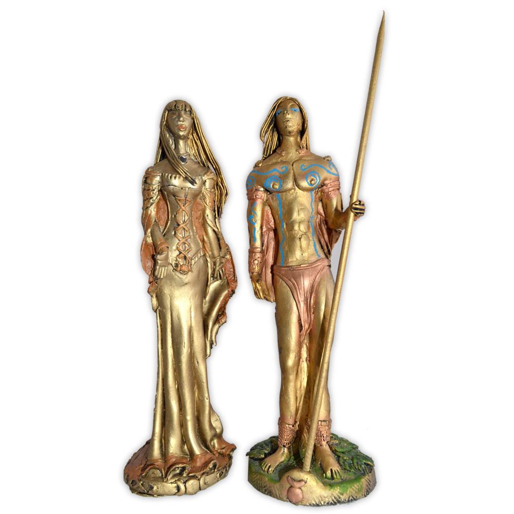 Casal de Deuses - Dourados Modelo 1