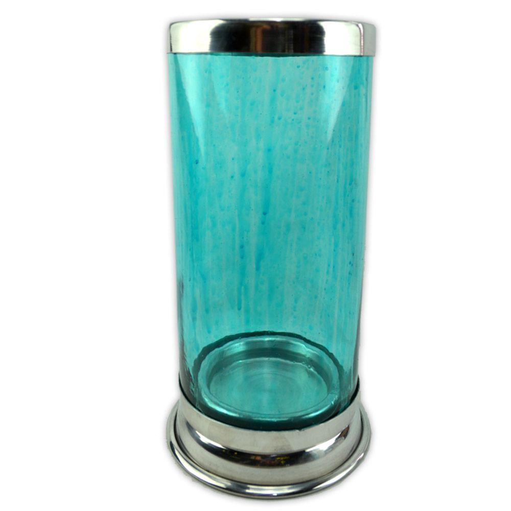 Castiçal para Vela de 7 dias - Azul claro