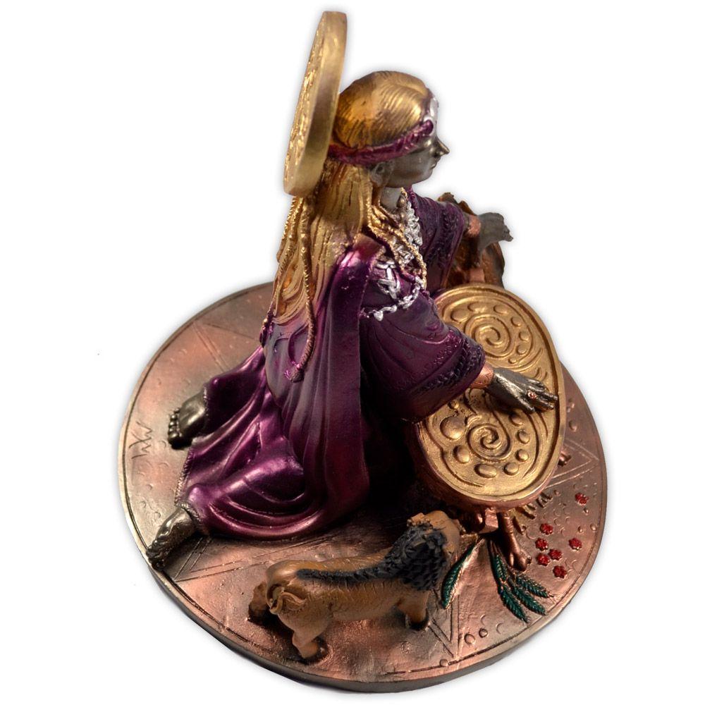 Ceridwen, A Grande Iniciadora nos Mistérios Sagrados - Colorida