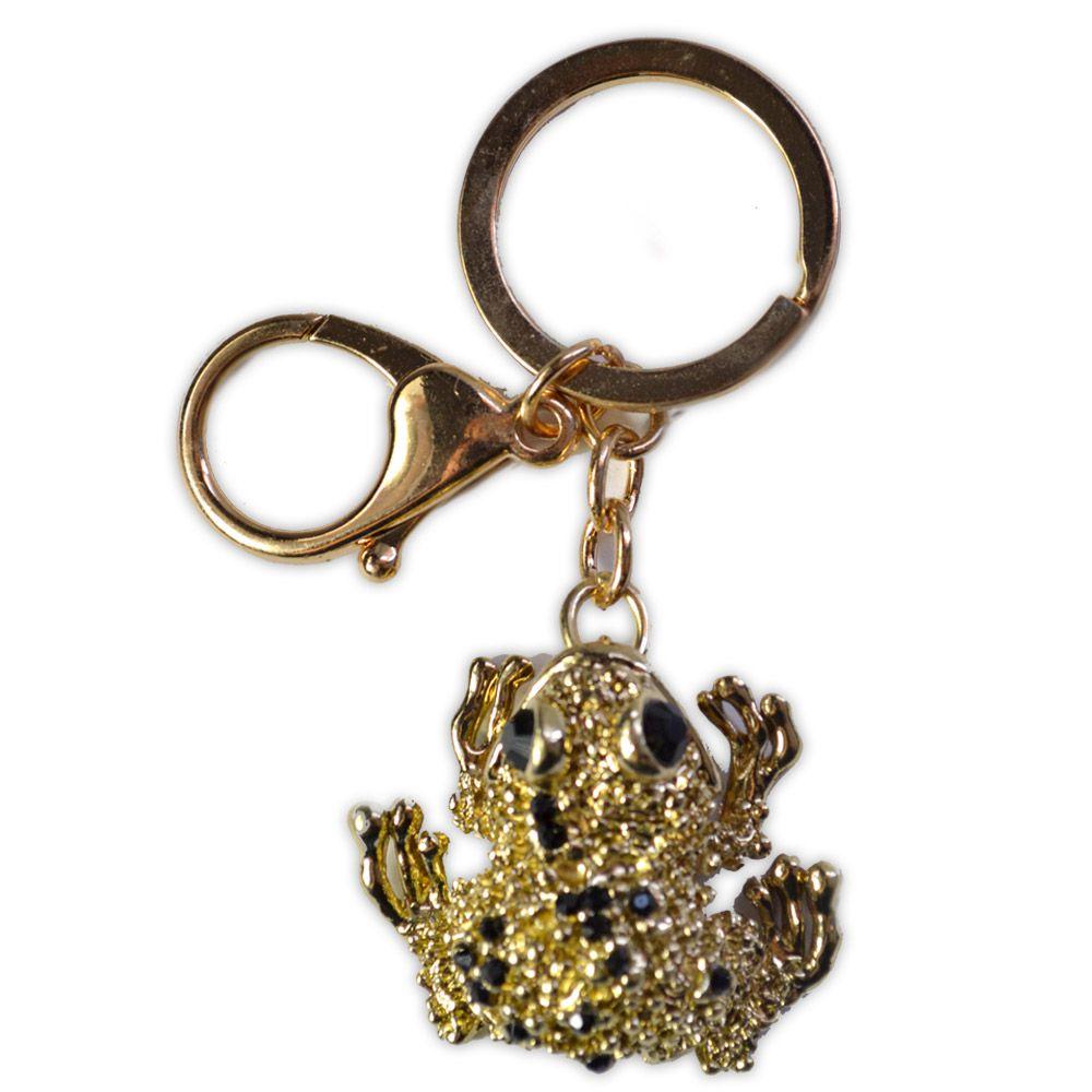 Chaveiro Sapinho - Dourado