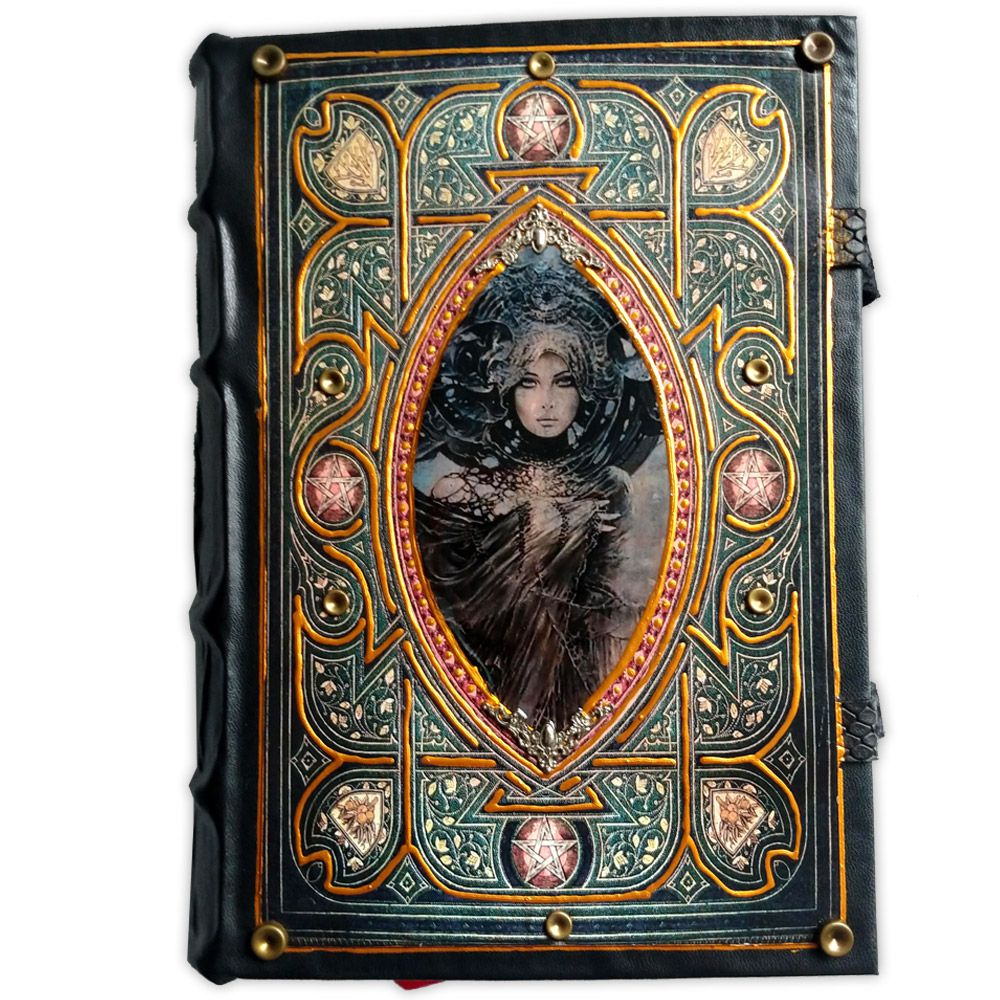 Book Of Shadows Encadernação Medieval 400pg. - Feiticeira