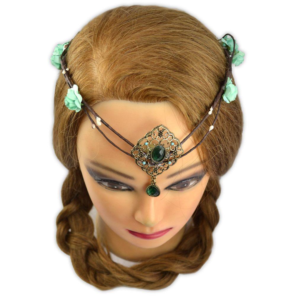 Coroa de Flores Pedra Verde
