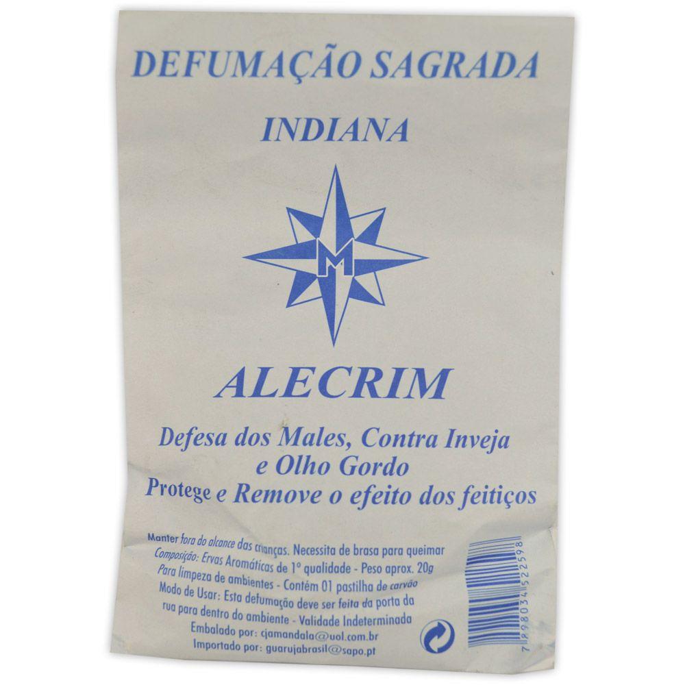 Defumação Sagrada Indiana  - Alecrim