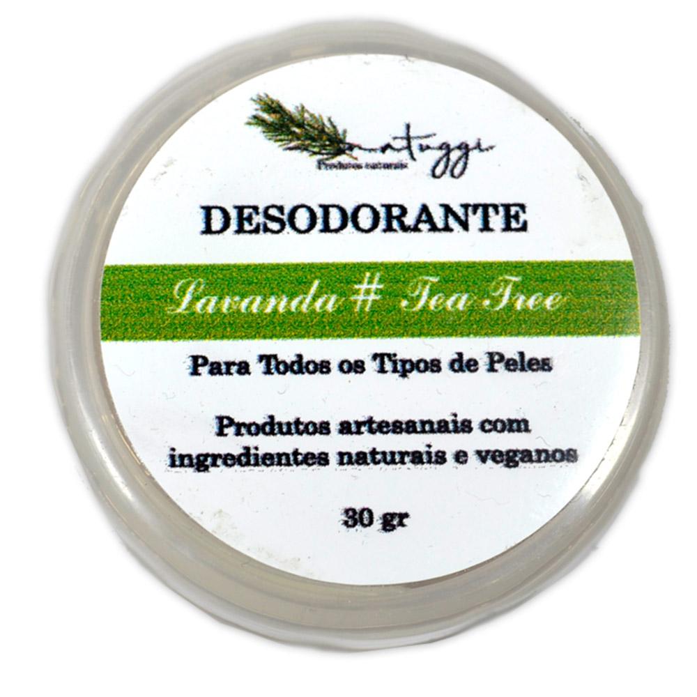 Desodorante de Lavanda e Tea Tree