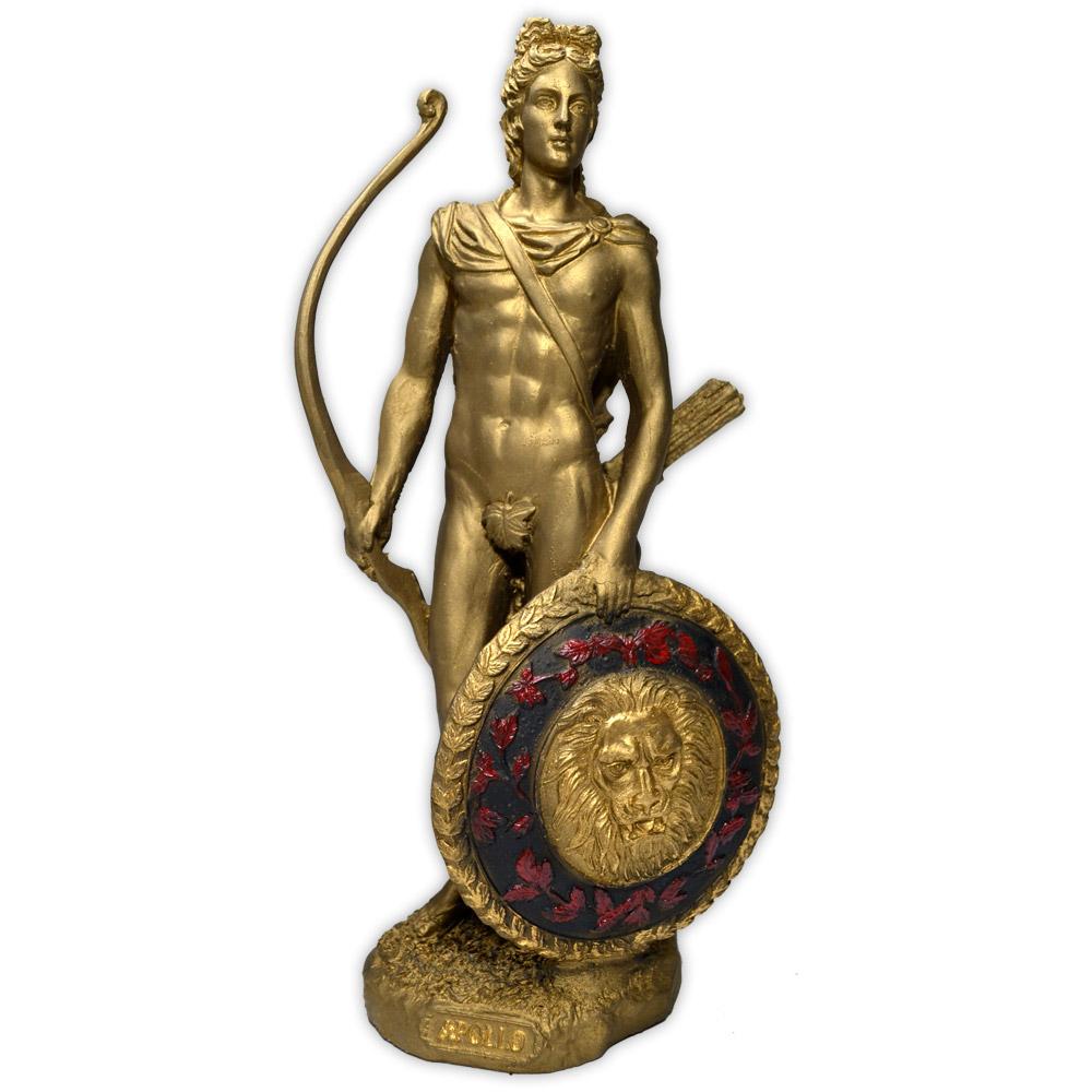 Deus Apolo - Dourado