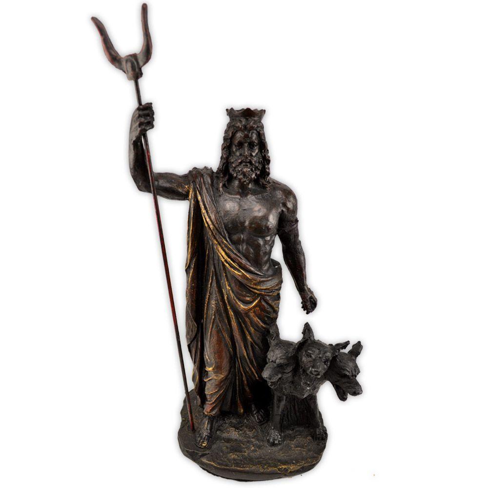 Deus Hades e Cérbero