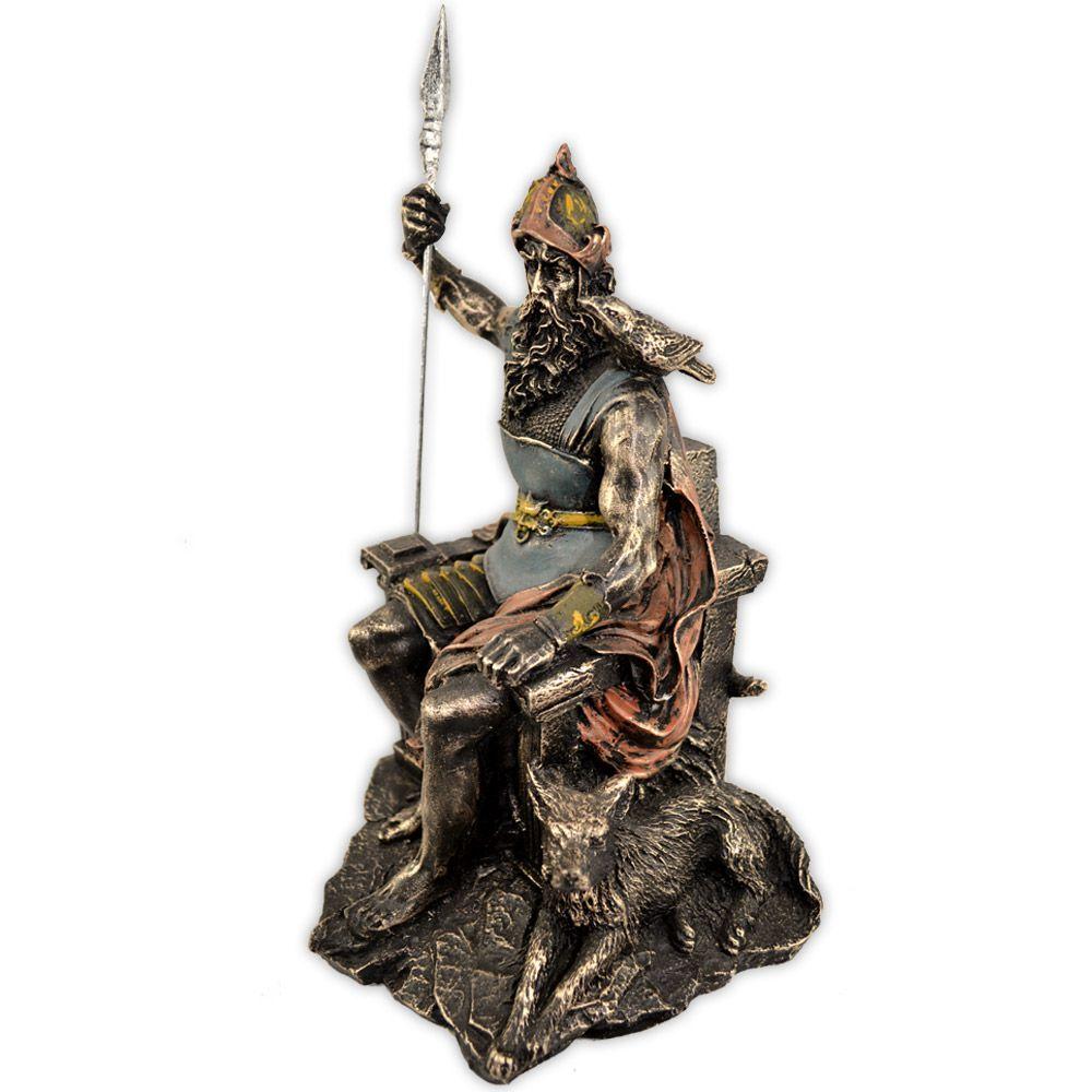 Deus Odin - no trono