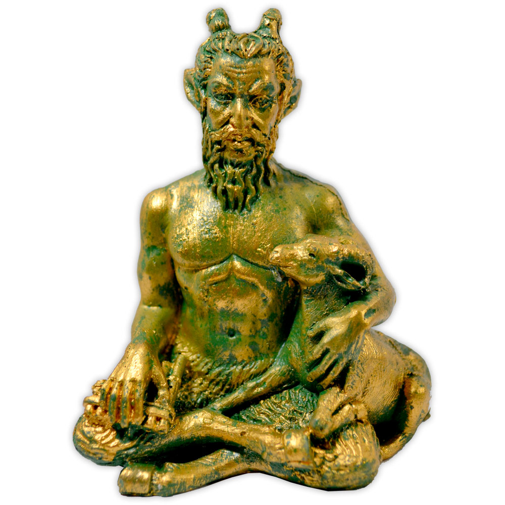 Deus Pan - dourado