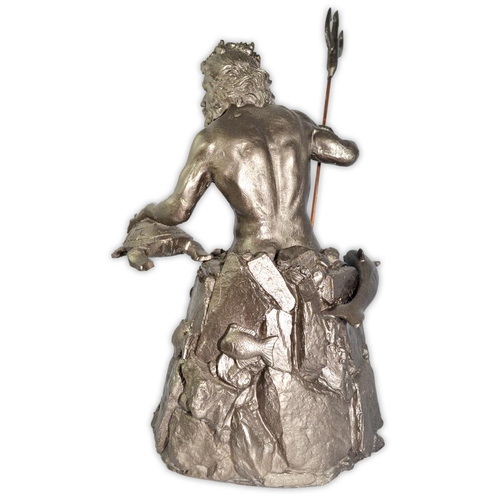 Poseidon ou Netuno, Deus dos Mares - Prateado