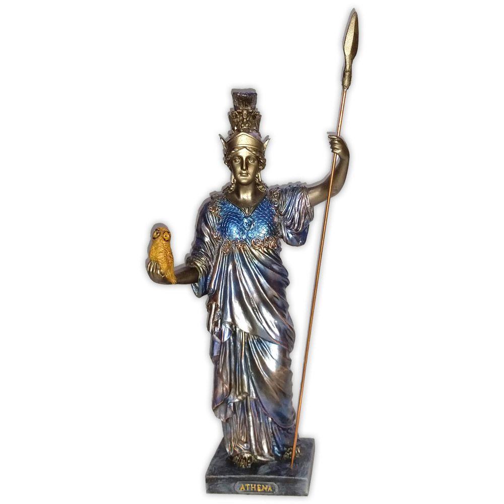 Deusa Athena - Colorida