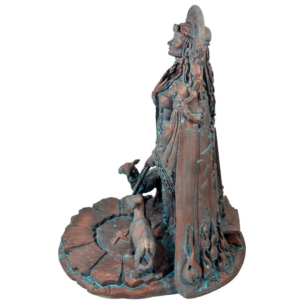 Brigit, Deusa das Fontes Sagradas - Azulada