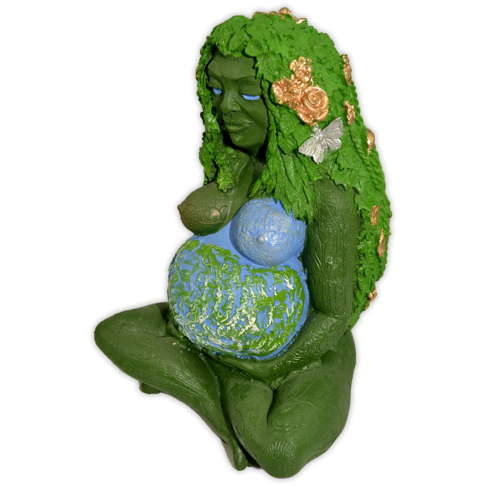 Deusa Gaia - sentada
