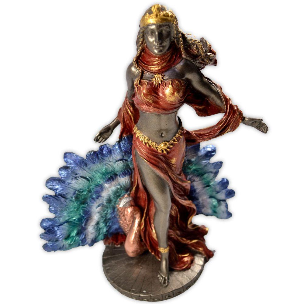 Hera, Deusa dos Céus e Protetora das Mulheres - Colorida