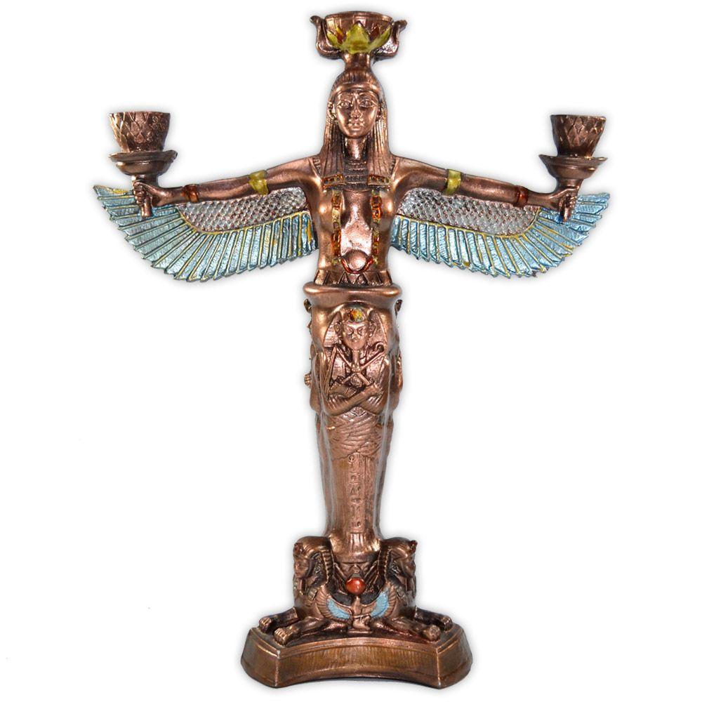 Deusa Ísis - Castiçal