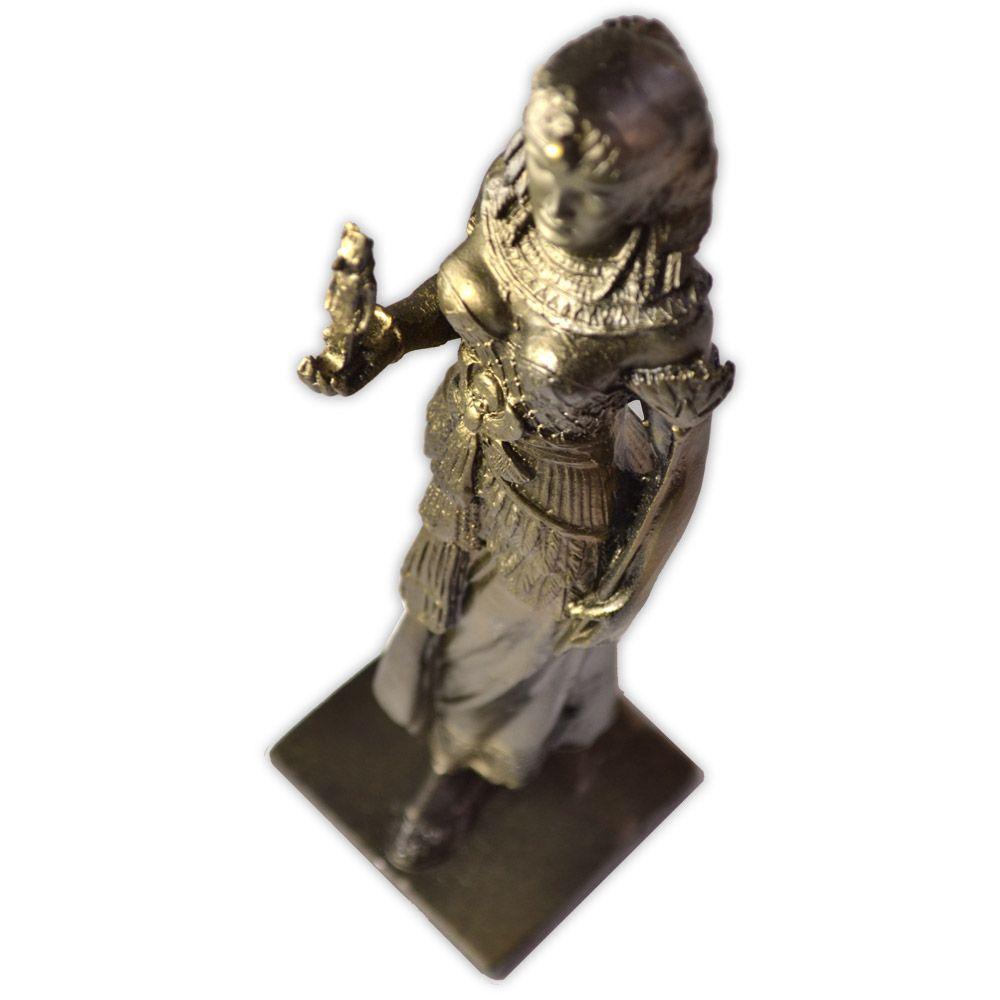 Deusa Ísis com tributo a Anúbis