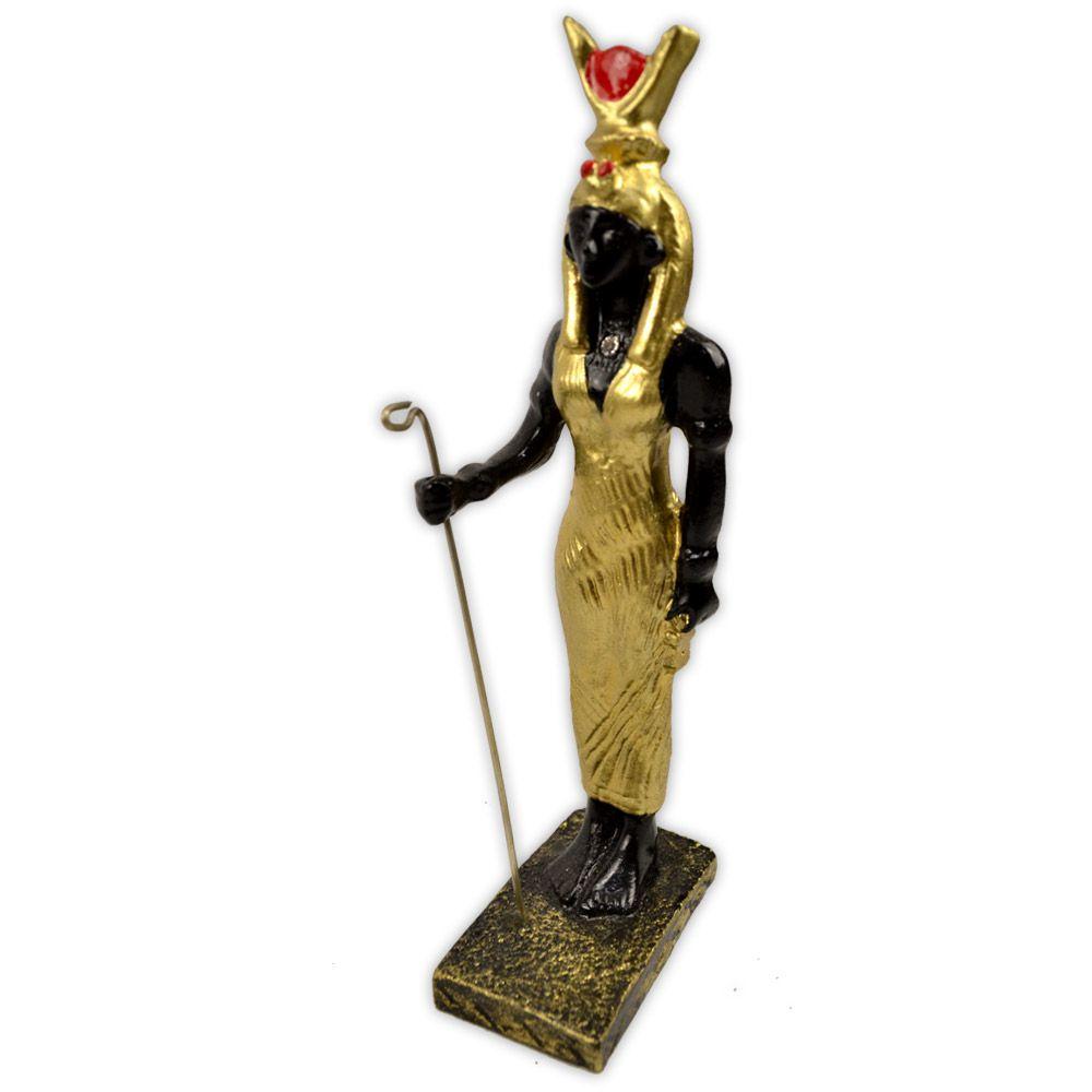 Deusa Ísis - Dourada Pequena