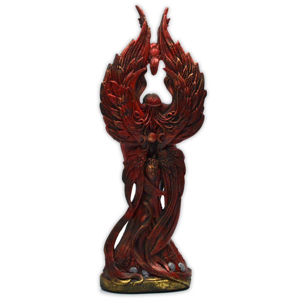 Morrighan, Deusa da Guerra e do Renascimento - Colorida mod. 1