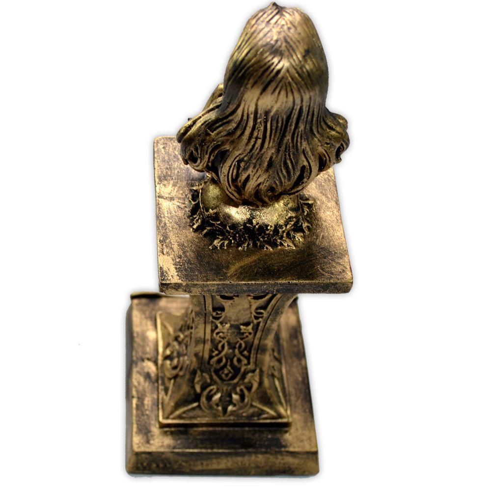 Deusa no Pedestal - Dourado