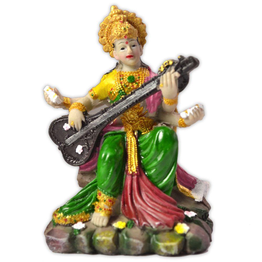 Deusa Saraswati - modelo 2