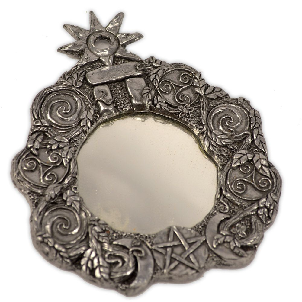 Espelho Mágico - Símbolos Wicca