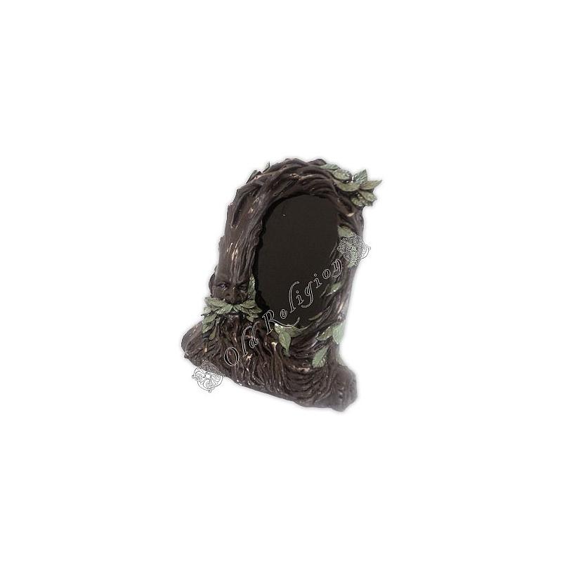 Espelho Negro - Árvore Marrom