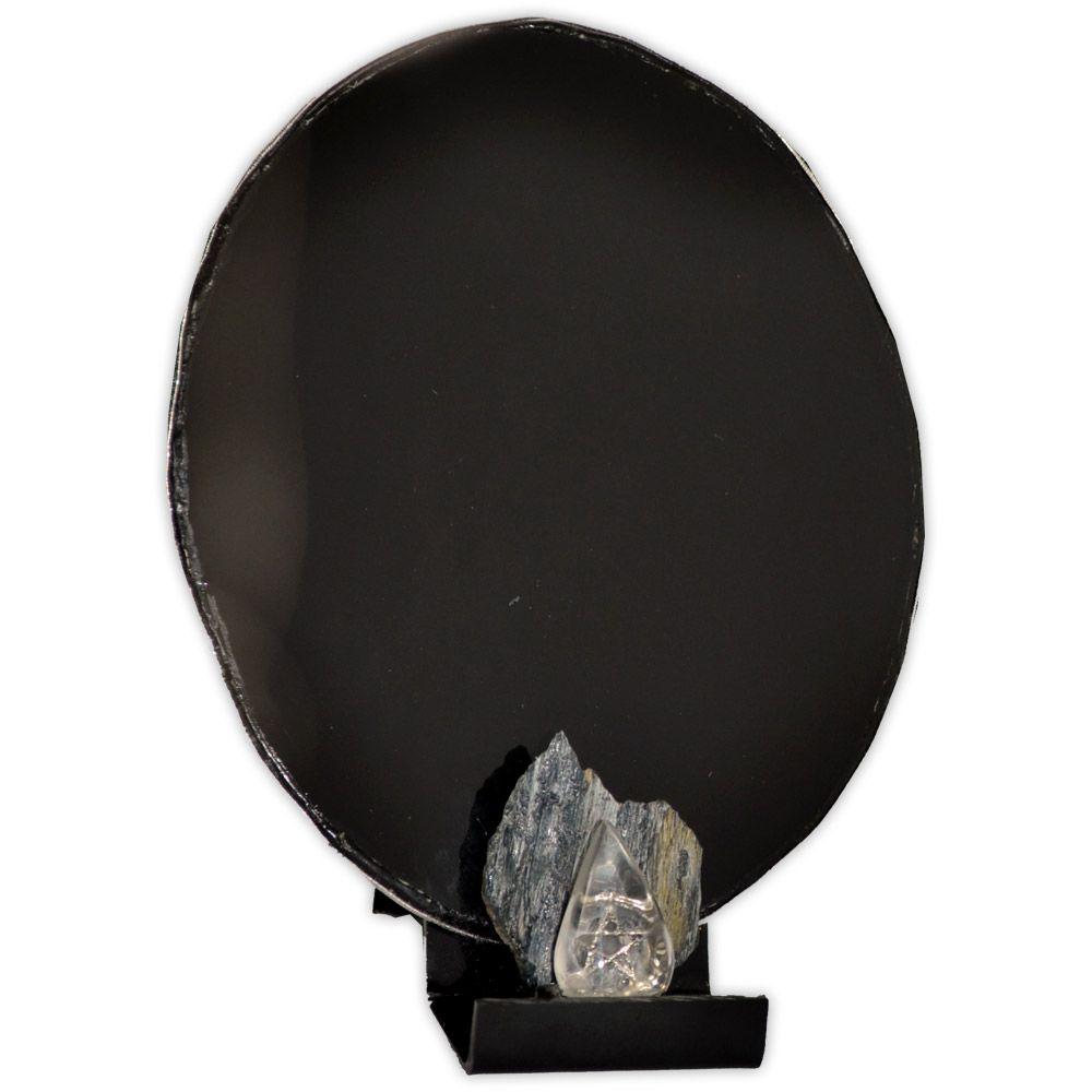 Espelho Negro - Cianita Negra