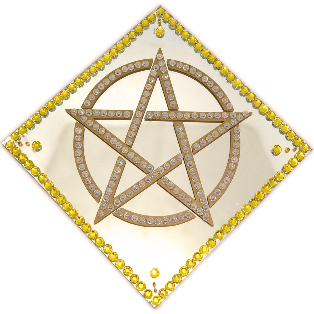 Espelho pentagrama