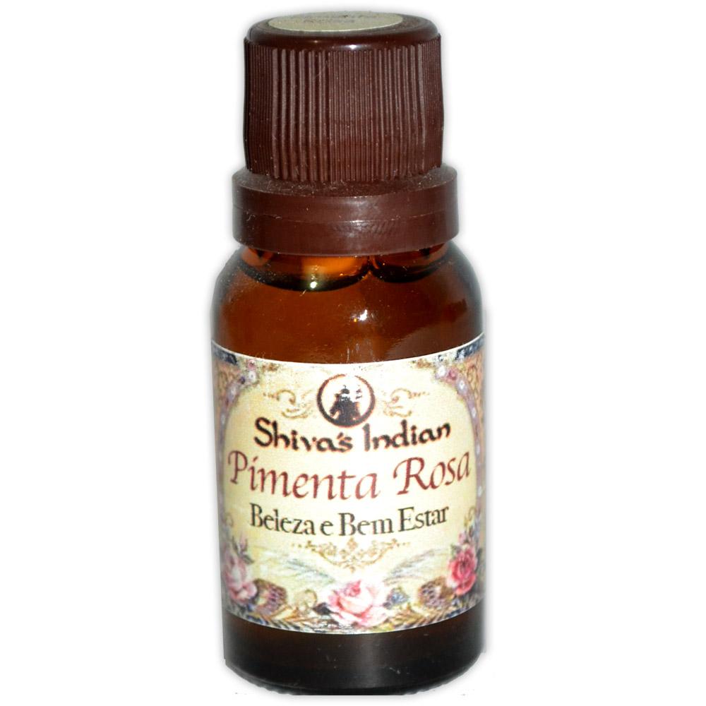 Essência com óleo essencial - Pimenta Rosa